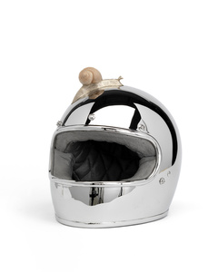 Snail Crossing Helmet