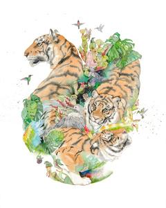 Tiger Mandala #2