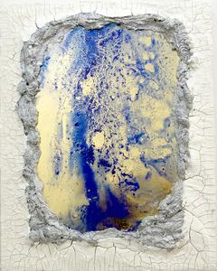 Mirror Painting Series No. 4 (Lapis)