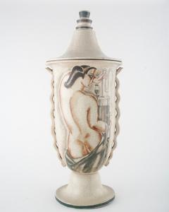 Monumental Lidded Vase