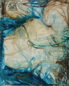 Blue Brushwork