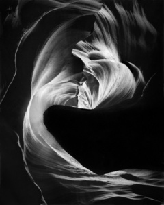 Circular Chimney, Antelope Canyon