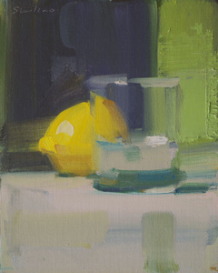 Glass and Lemon
