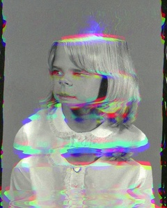 Girl from Contact Sheet (Darkroom Manuals)
