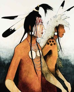 Crow Indian Warriors