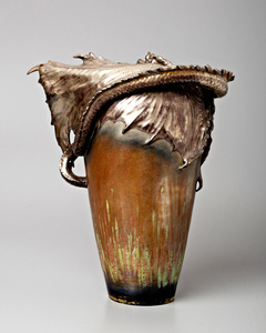 Eastern Dragon Vase