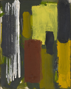 Lemon, Ochre, Black : January 1957