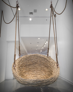 Custom Hanging Nest Sculpture