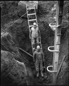 Stanley Phillips & Gene Maddox, Hoadley Quarry, Guthrie