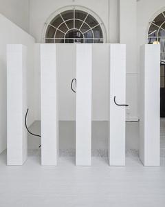 Installation view, Watch Queen series, Royal Academy Schools