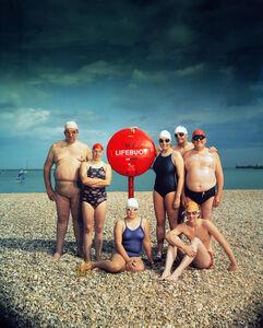 15 July 1984 Channel Swimmers