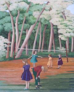 Hide & Seek (After Bruegel's Children's Games)