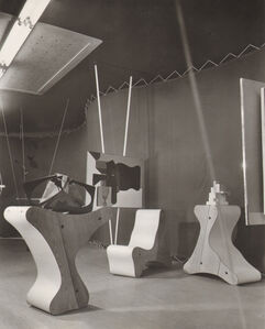 Frederick Kiesler, Abstract Gallery, Art of This Century, New York, 1942