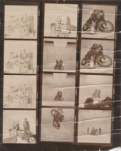 Second Fantasy #2 (Bikers), Market Street Program