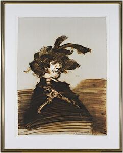 Rembrandt En Habit De Capitaine