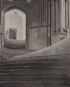 'A Sea of Steps', Wells Cathedral, Steps to Chapter House