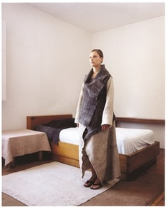 "Square Chamula Coat from the ""Casa Barragan Collection"""