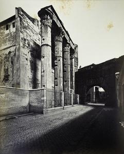 Rome - Temple and Portico
