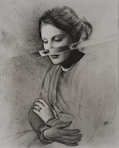 Portrait, Solarised and Cut