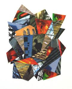 Color Film Landscape Collage