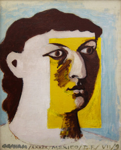 Untitled (Face of a Woman), Portrait of Anni Albers