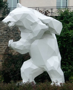 White Wild Bear (Click Image / Other colors available)