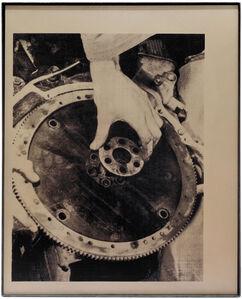 GM 180 Flywheel, 2017 © Theo Simpson/ Webber Gallery, London