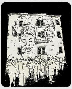 Nina Simone, James Baldwin and Malcolm X Wall