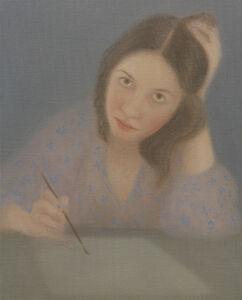 Retrato dibujando