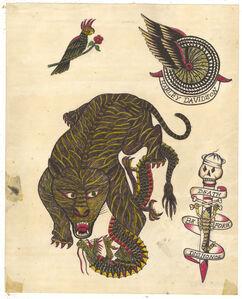 Untitled (Tiger VS Dragon)