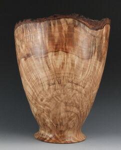 Oak Burl Vase