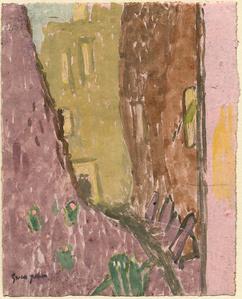 Street in Twilight, Meudon