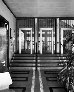 Globushaus Höchstädtplatz, Wien, AT, ArchitektInnen Wilhelm Schütte, Margarete Schütte-Lihotzky, Fritz Weber, Karl Ede