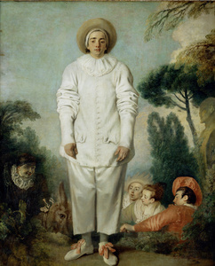Pierrot, also called Gilles