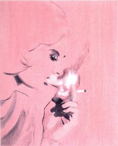 Die Raucherin
