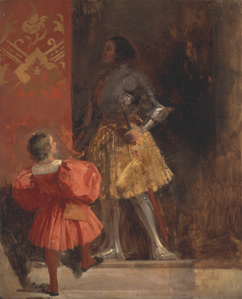 A Knight and Page (Goetz von Berlichingen and his Page George)