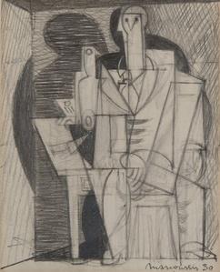 Portrait cubiste