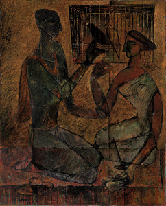 Untitled (Couple with Bird)