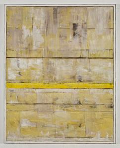 Horizon Passage: Yellow, White, Umber
