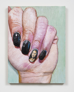 Mona Lisa nail