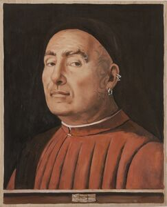 The Nonconformist after Antonello da Messina's Portrait of a Man