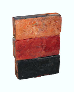 """Historical Bricks II """"from Hudson River in Poughkeepsie"""" (front)"""