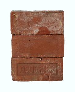 "Historical Bricks IV ""from Hudson River in Poughkeepsie"" (Back)"