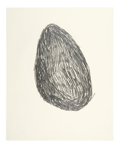 Untitled (Drawing for Lump of Chalk)