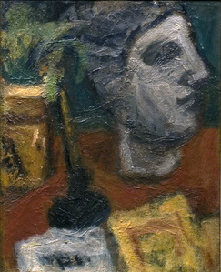 Still Life with Sculptured Head