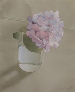 Hydrangea In Jar