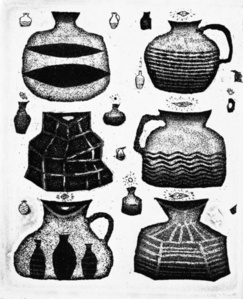Satiety and thanksgiving of clay pitchers