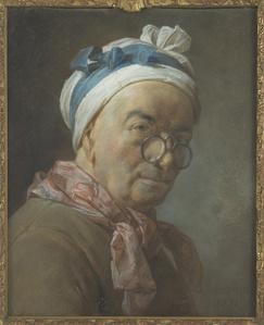 Autoportrait aux besicles (Self-portrait with spectacles)