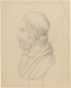 Classical Portrait Bust of a Bearded Man