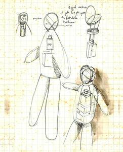 Preparatory drawing / Historic drawing